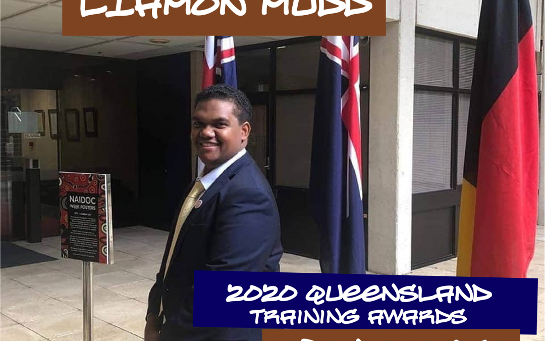 IYMP Participant Liamon Mudd selected as finalist for 2020 Queensland Training Awards